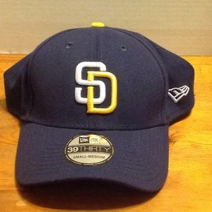 SD Padres stretch fit cap